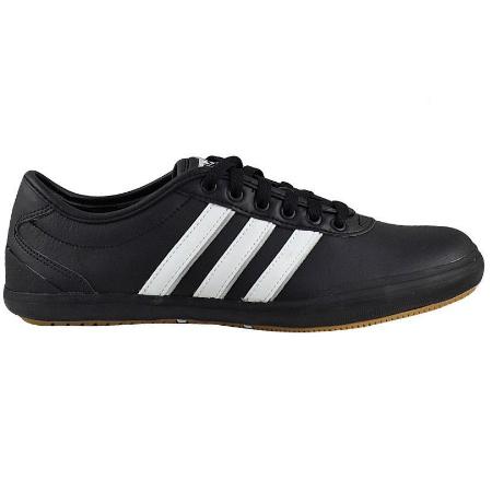 9de2dde292a Черни мъжки кожени обувки Adidas Modern Court - Ephorial.com ...