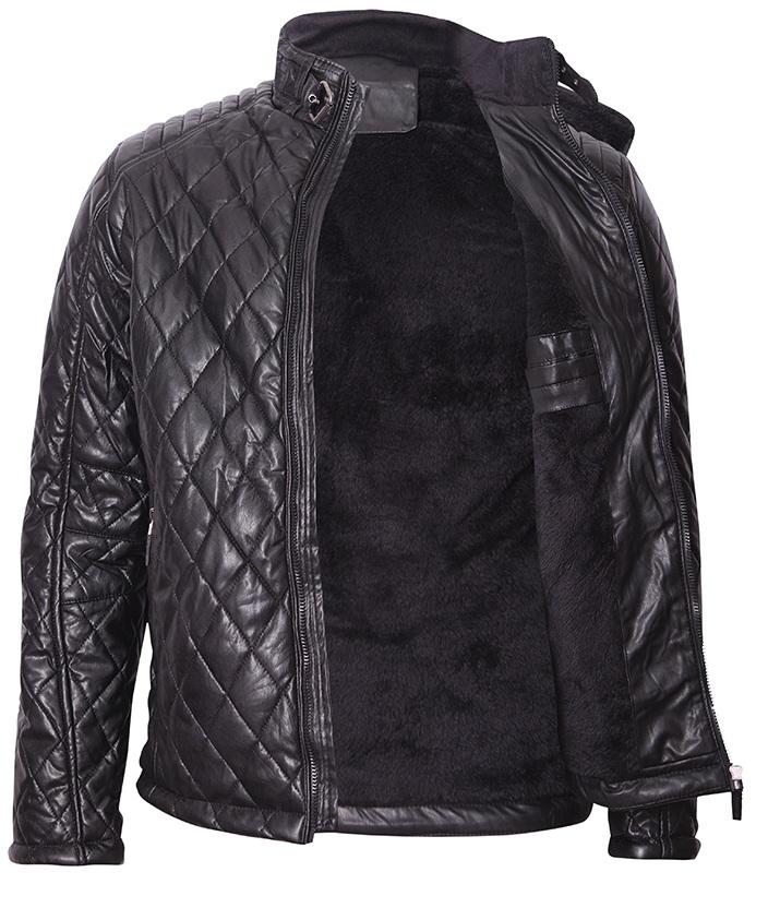 5546f66f2ea Мъжко кожено яке - Купър - Ephorial.com | Онлайн магазин за мъжки и ...
