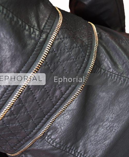 02448dfb471 Дамско кожено яке - P1050 - Ephorial.com | Онлайн магазин за мъжки и дамски  дрехи