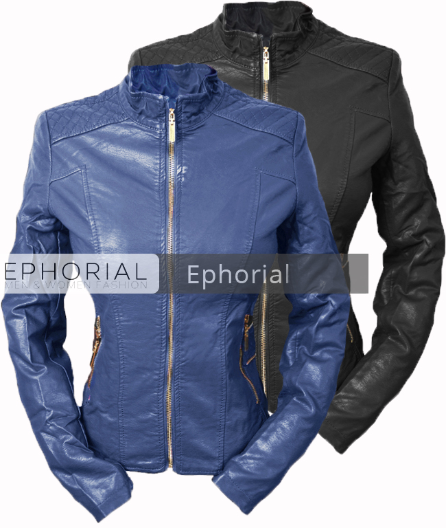 fdcd76a00ea Дамско кожено яке - P1050 - Ephorial.com | Онлайн магазин за мъжки и ...